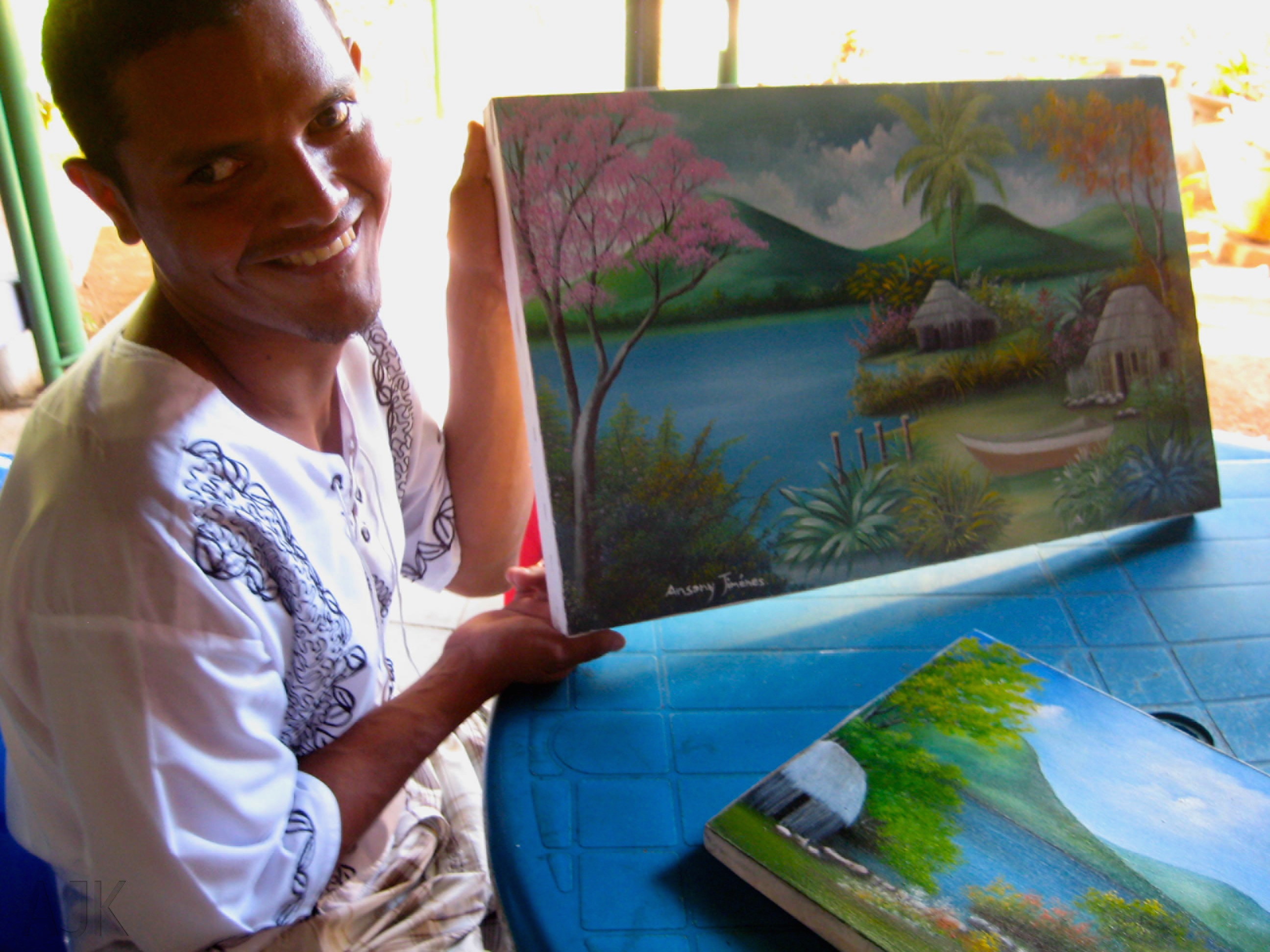 ... completing the Basic Adult Education course, and taking painting classes ...