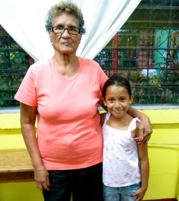 Sarela and her great-grandmother, Rosa