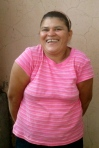 Silvia Espinoza Age 43, Adult Basic Education class level 2 (Grades 3-4). She never went to school growing up because she was helping her mom make and sell tortillas. Enjoys giving manicures and pedicures in her free time.